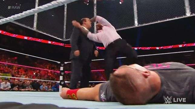 RAW: Paul Heyman se mete donde no le llaman y Orton no ...