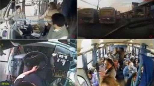 Chofer sorprende a pasajeros al ceder su asiento