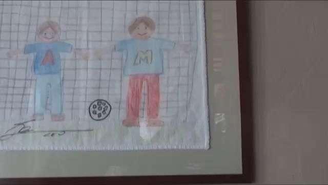 Los dibujos solidarios de Messi y Ronaldo