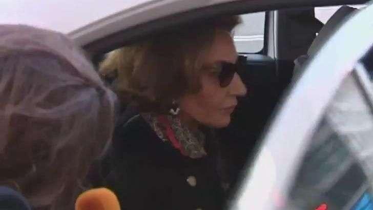 Naty Abascal, abatida por la muerte de Óscar de la Renta