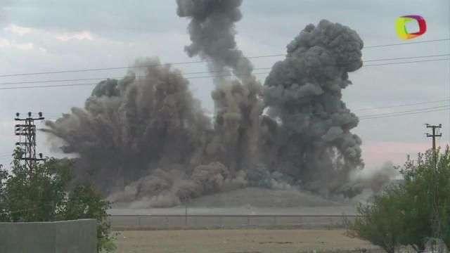 Así se ven los ataques aéreos de la Coalición ...