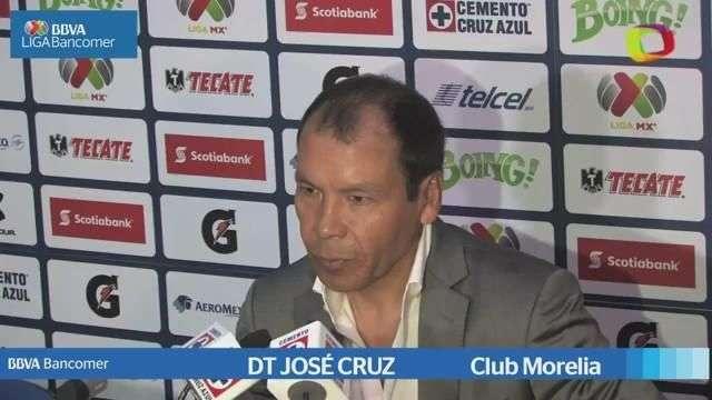 Jornada 14, José Cruz, Cruz Azul 3-1 Morelia, Aperura 2014