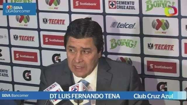 Jornada 14, Luis Fernando Tena, Cruz Azul 3-1 Morelia, Aperura 2014