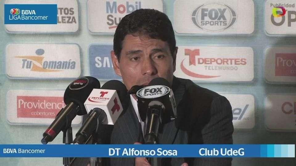 Jornada 14, Alfonso Sosa, Pachuca 0-0 U de G, Apertura 2014