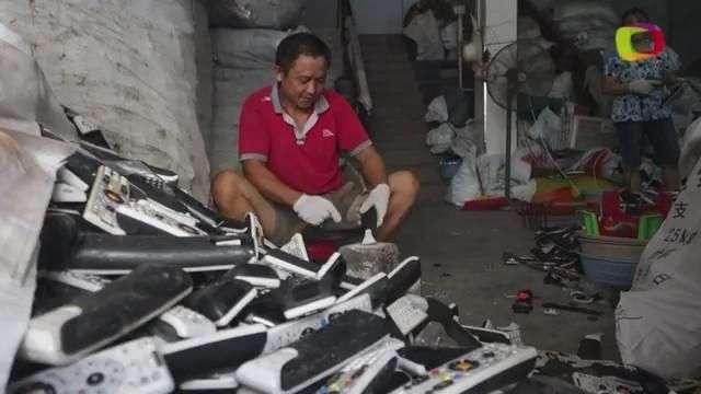 Reciclaje, todo un negocio en China