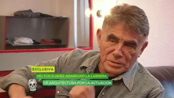 Héctor Suárez, así se enteró que quería ser actor