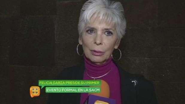 Felicia Garza presidió su primer evento formal con la SACM