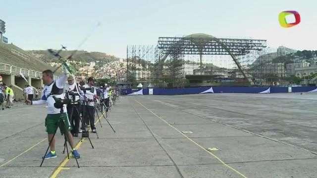 Sambódromo cambia samba por tiro con arco