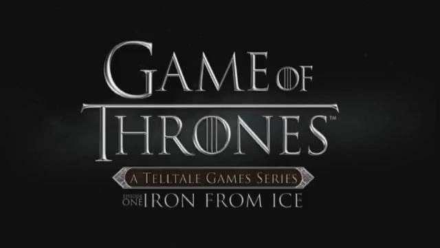 Liberan primer trailer de juego de Game of Thrones