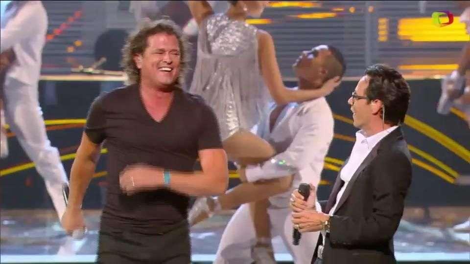 Miguel Bosé, Pepe Aguilar y Marc Anthony en vivo en los ...