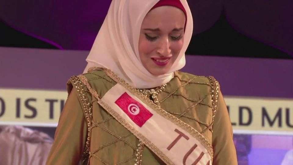 La nueva Miss Musulmana pide por Palestina