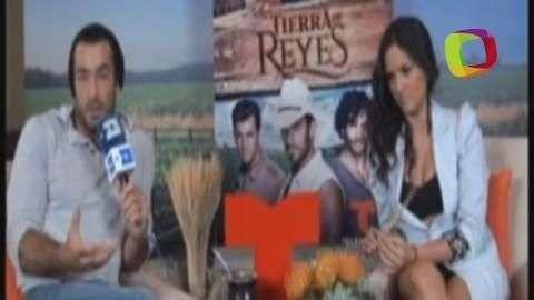 Aarón Díaz estelariza 'Tierra de Reyes'