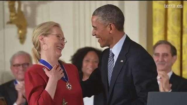 Meryl Streep, premiada por Obama