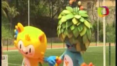 Presentan a la mascota de los Juegos Olímpicos 2016