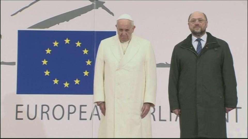 El Papa reclama a Europa mayor protagonismo