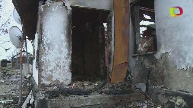 Ucrania, con casas destruidas y sin electricidad en invierno