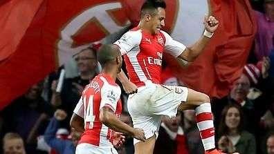 Alexis Sánchez vuelve a marcar golazo por el Arsenal