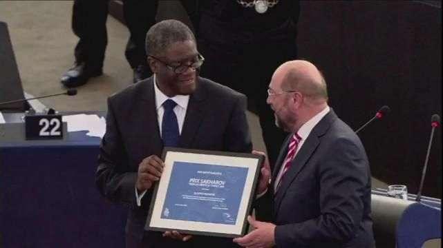 Un premio Shakharov contra la violencia sexual