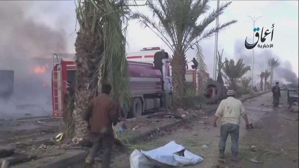 Régimen sirio bombardea bastión del Estado Islámico