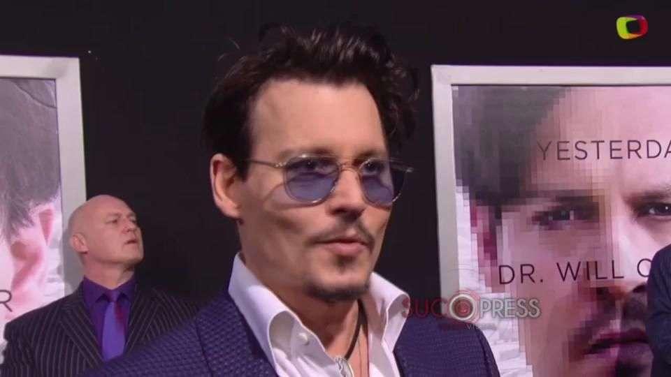 Johnny Depp es libre, porque le da igual