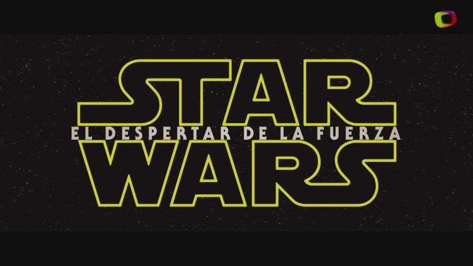 'Star Wars: El Despertar de la Fuerza' (teaser trailer)