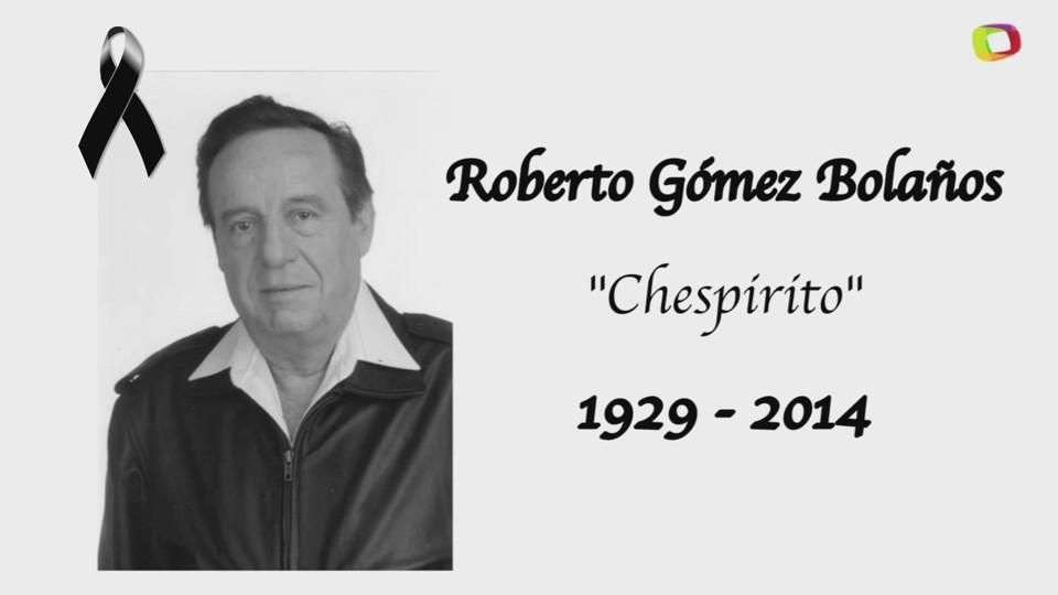 Muere 'Chespirito' a los 85 años de edad
