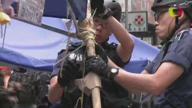 Fin de las protestas en Hong Kong