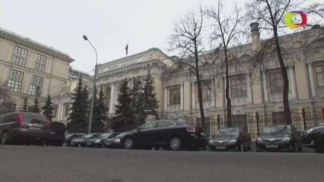 El rublo comienza el miércoles con caídas