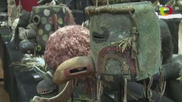 Polémica subasta de máscaras Hopi