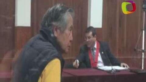 Fujimori, nuevamente en el banquillo de los acusados