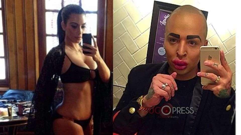 Un joven paga 150 mil dólares para parecerse a Kim ...