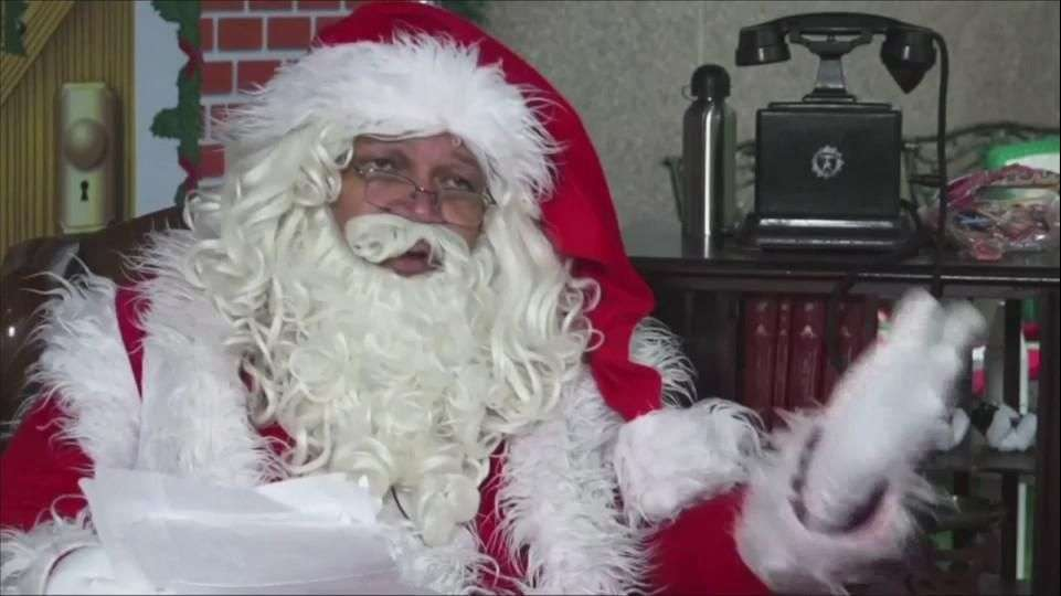 Servicio postal en Brasil ayuda a Santa Claus