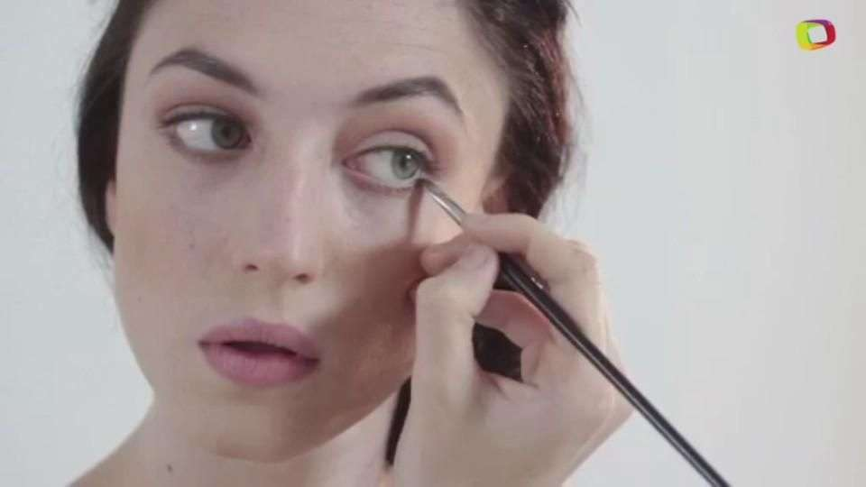 Tightlining el maquillaje invisible: Efecto cara lavada