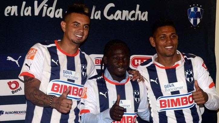 Rayados presenta refuerzos colombianos de cara al ...