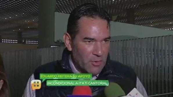 Eduardo Santamarina apoya incondicionalmente a Itatí ...