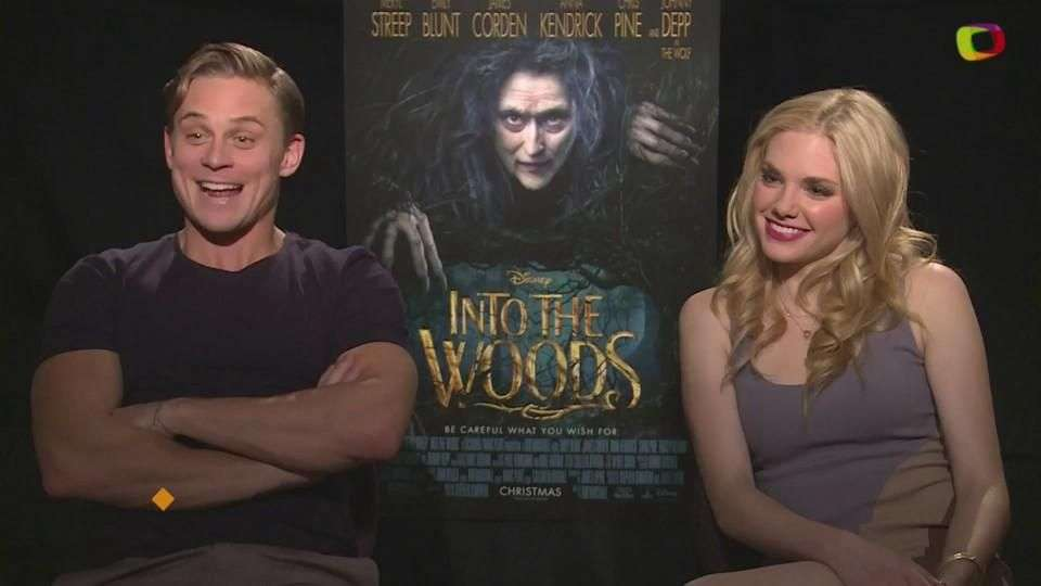 'Into The Woods': Billy Magnussen y Mackenzie Mauzy ...