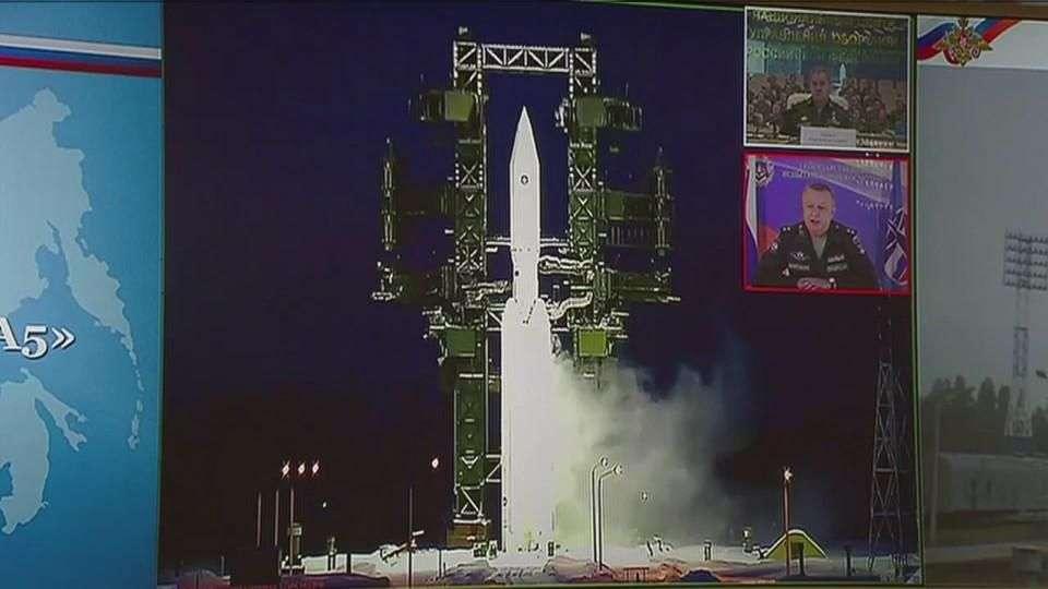 Exitoso lanzamiento del cohete ruso Angara