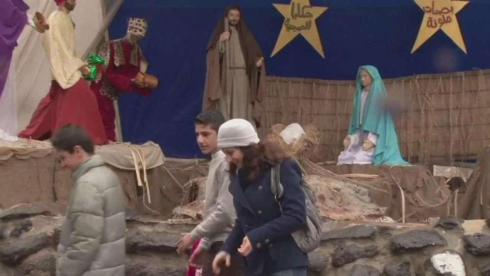 Cristianos de Homs celebran Navidad
