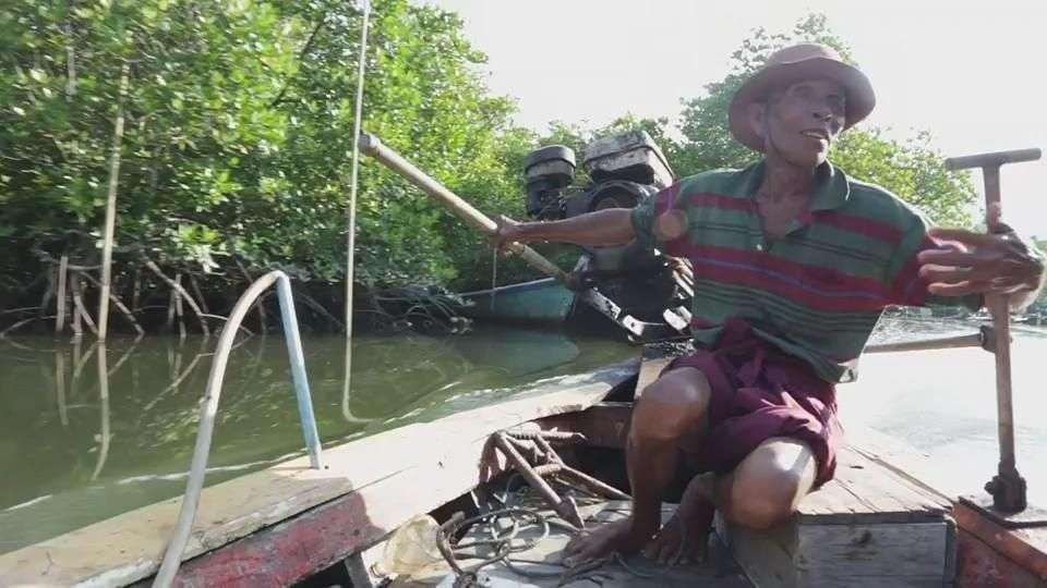 Los 'gitanos de mar' tras el tsunami