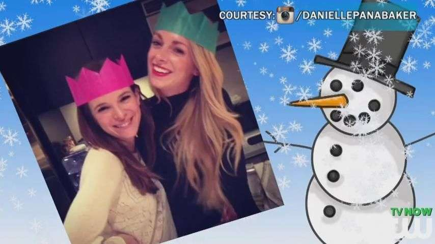 See How The CW Stars Get Into The Christmas Spirit