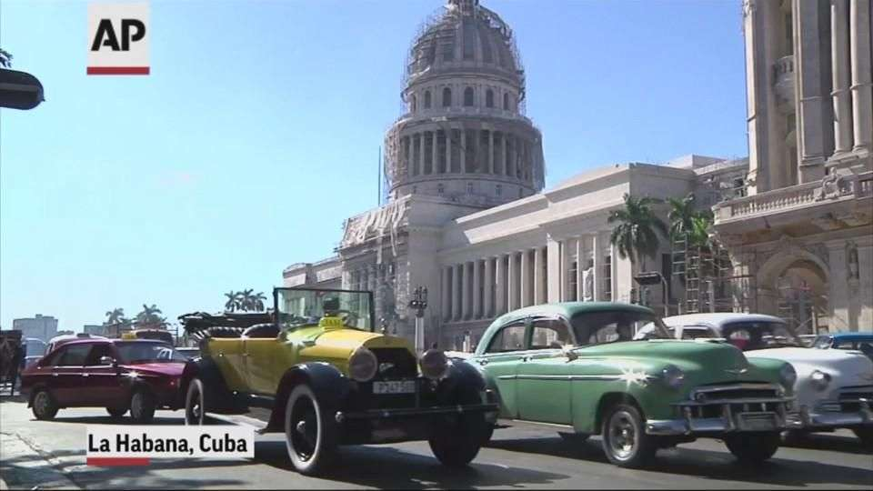 Nueva relación Cuba-EU despierta interés por autos clásicos