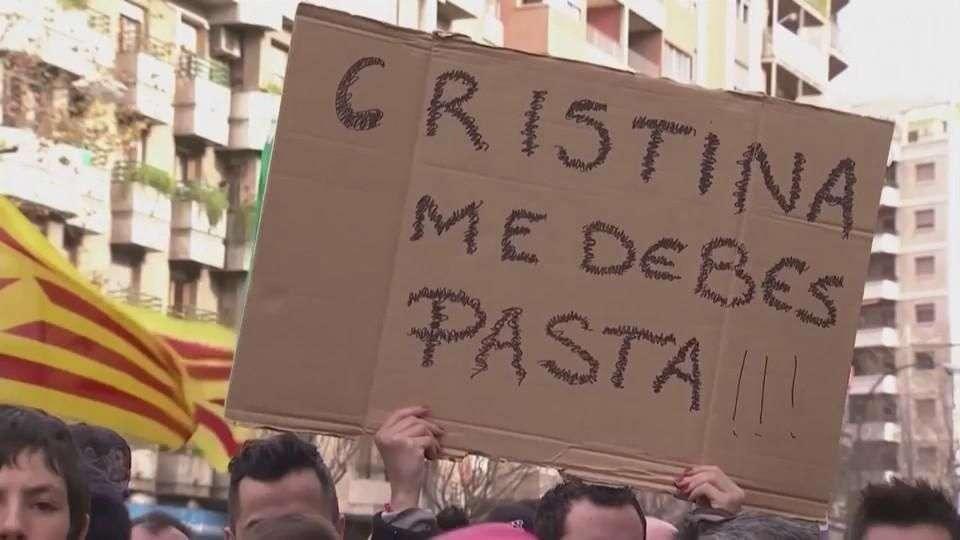 Infanta Cristina será juzgada como cómplice de fraude y ...