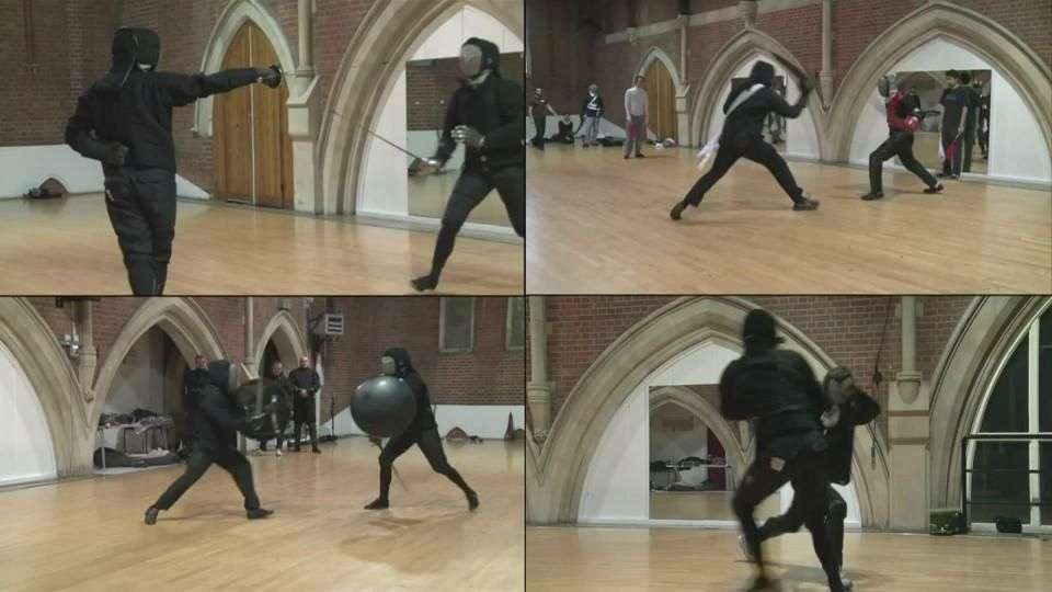 La lucha medieval es moda en Londres