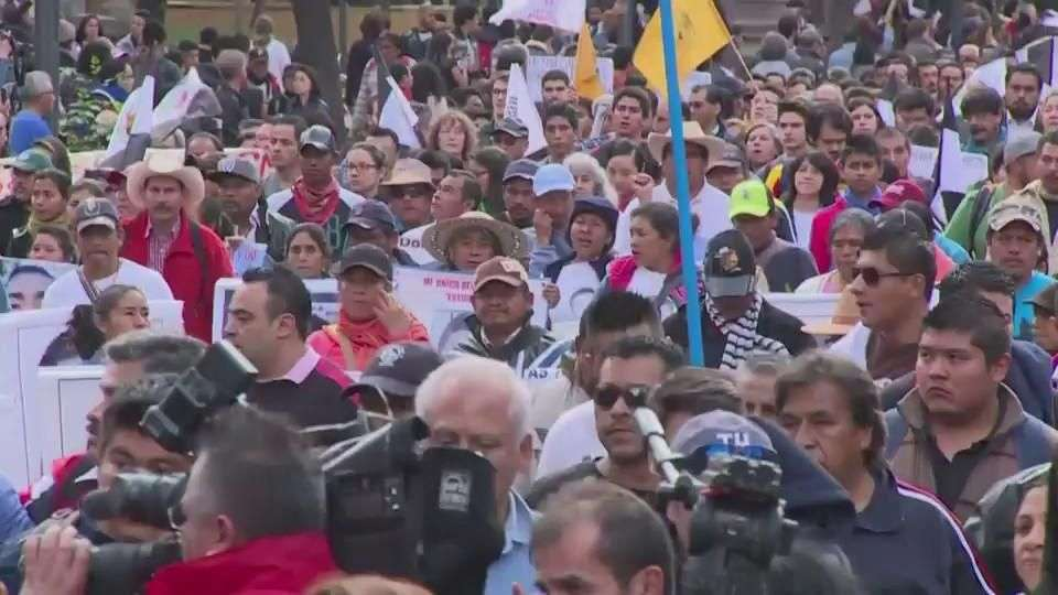 México no olvida a los 43 estudiantes