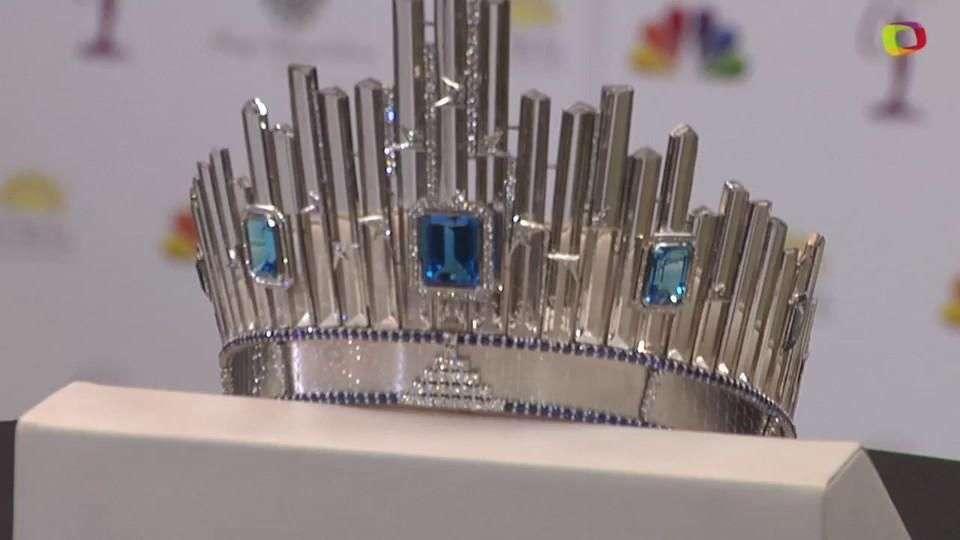 Miss Universo revela nueva corona de 300 mil dólares