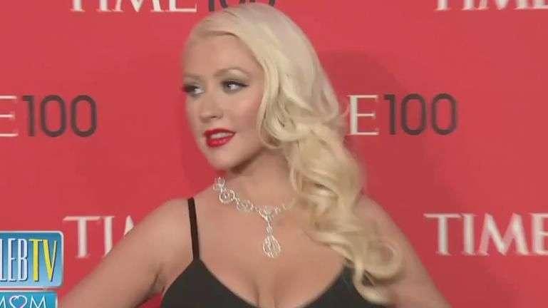 Vean a la Pequeña Diva de Christina Aguilera!