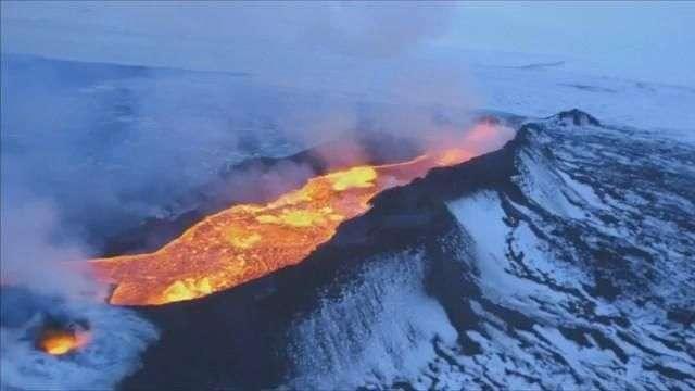 El volcán Bardarbunga sigue en erupción