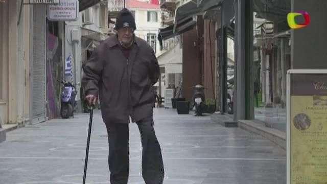 Una isla griega enferma por la crisis
