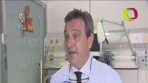 Operan con éxito 'síndrome del intestino corto'