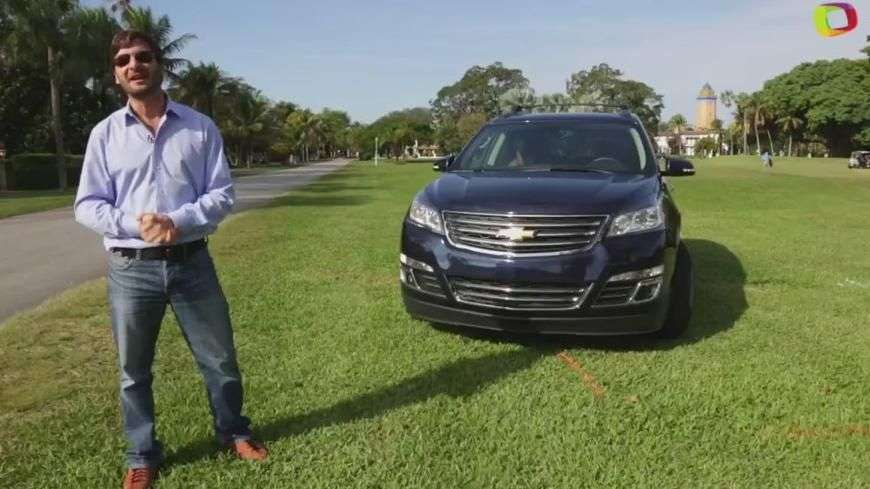 Video: Prueba Chevrolet Traverse 2015